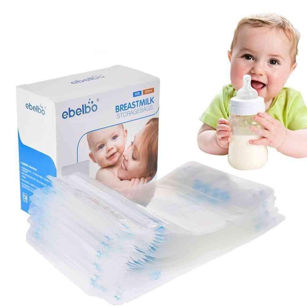 Breast Milk Storage Bag Feeding