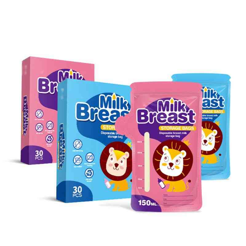 150ml Milk Freezer Bags