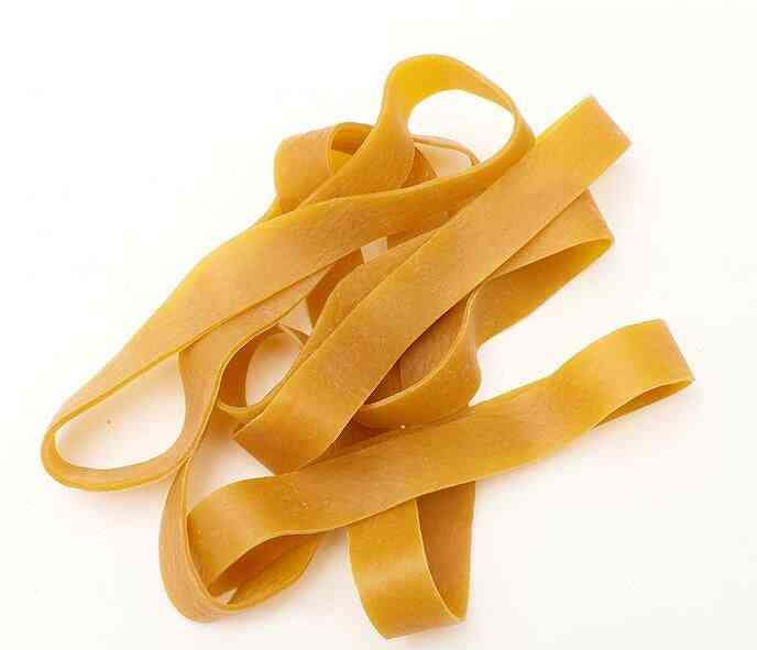 Brown Elastic Rubber Bands, Heavy Duty, Strong, Large, Industrial Packing Tie