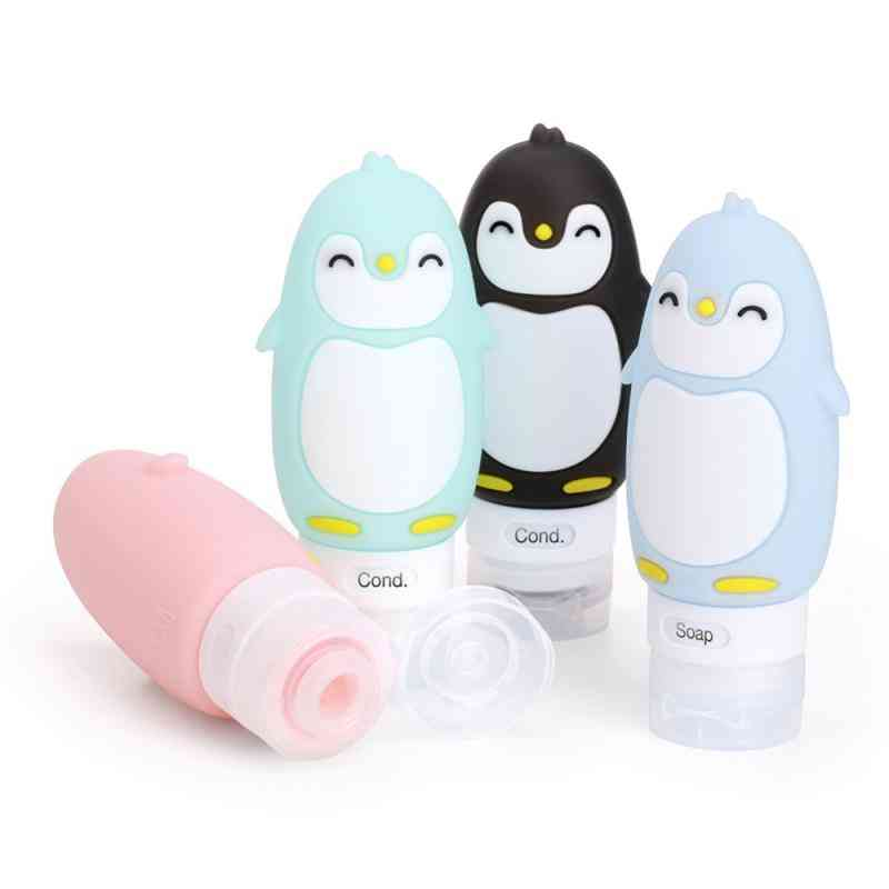 Child And Adults Multi-purpose Outdoor Travel Portable Bottle, Squeeze  Cartoon, Animal Model, Silicone