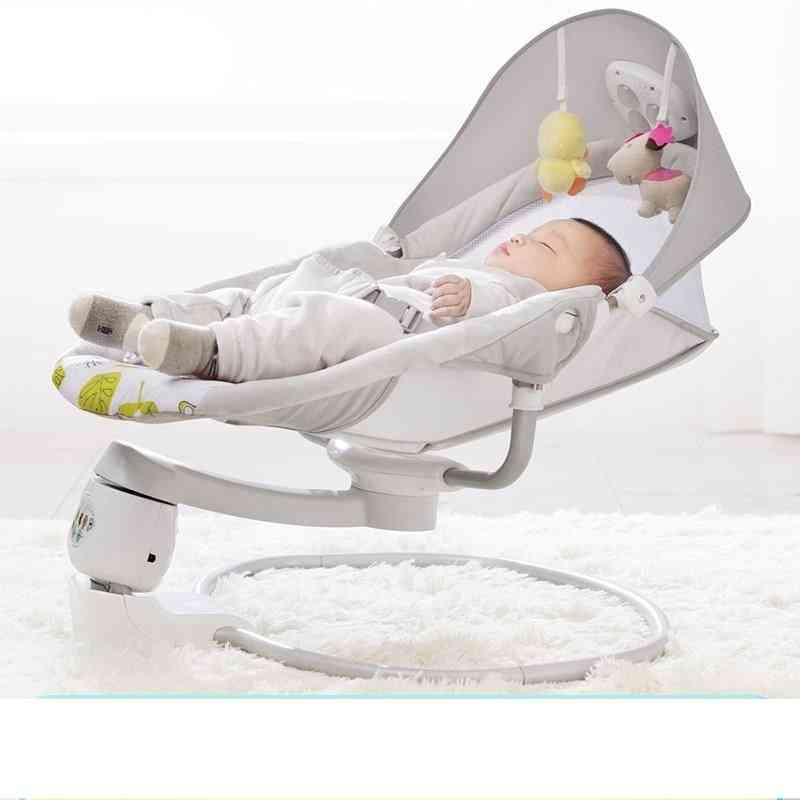 Baby Rocking Chair Safe Electric Cradle Soothing