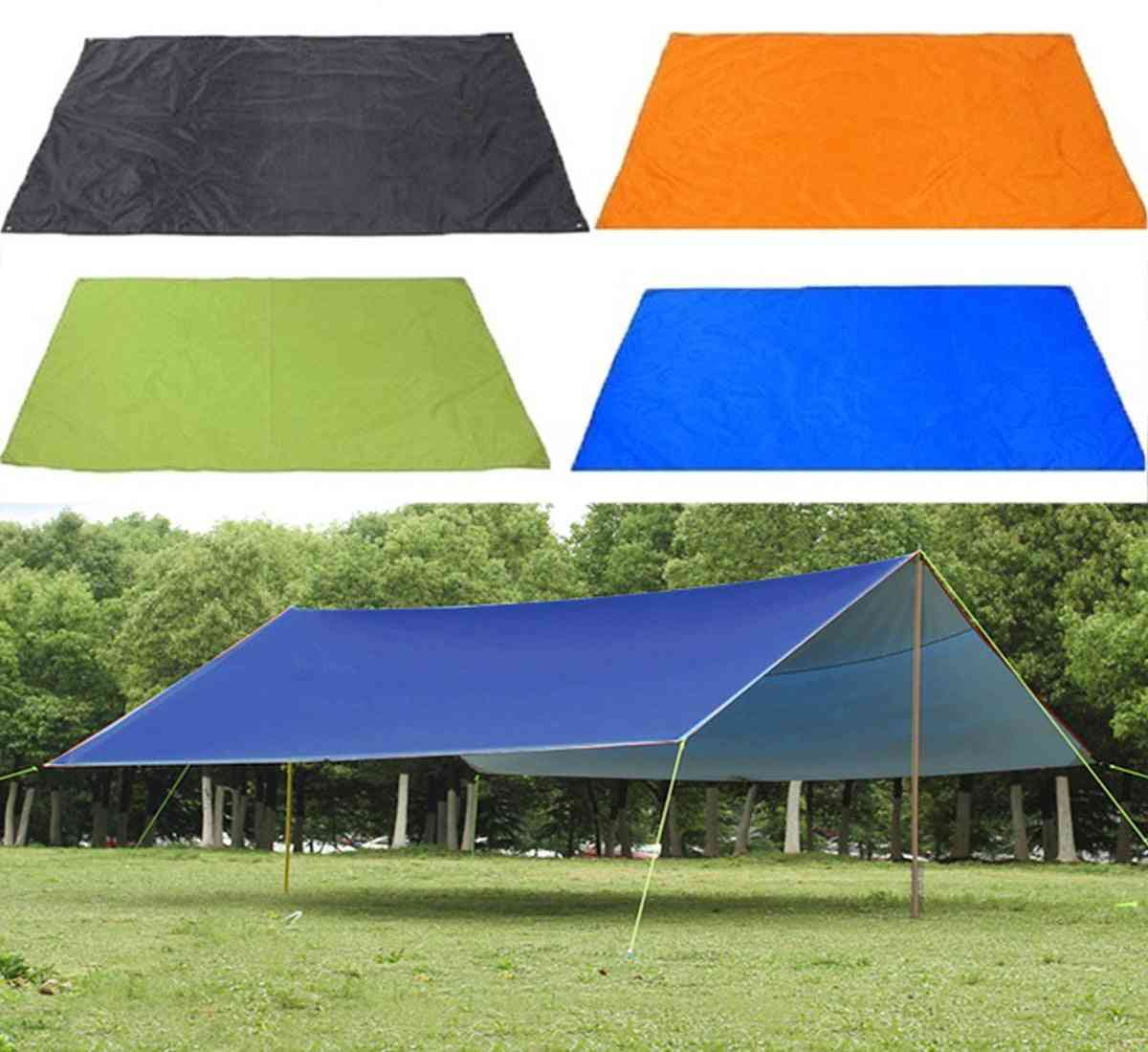 Waterproof Sun Shelter, Sunshade, Protection Outdoor Canopy, Garden Patio Pool Shade, Sail Awning, Camping Picnic Tent