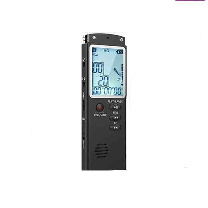 Digital Audio Voice Recorder With Wav,mp3 Player