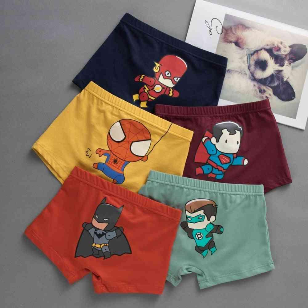 Kids Cotton Panties Spiderman