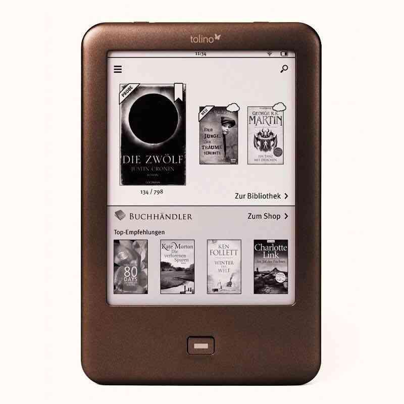 E-book Reader Built In Light Wifi Ebook