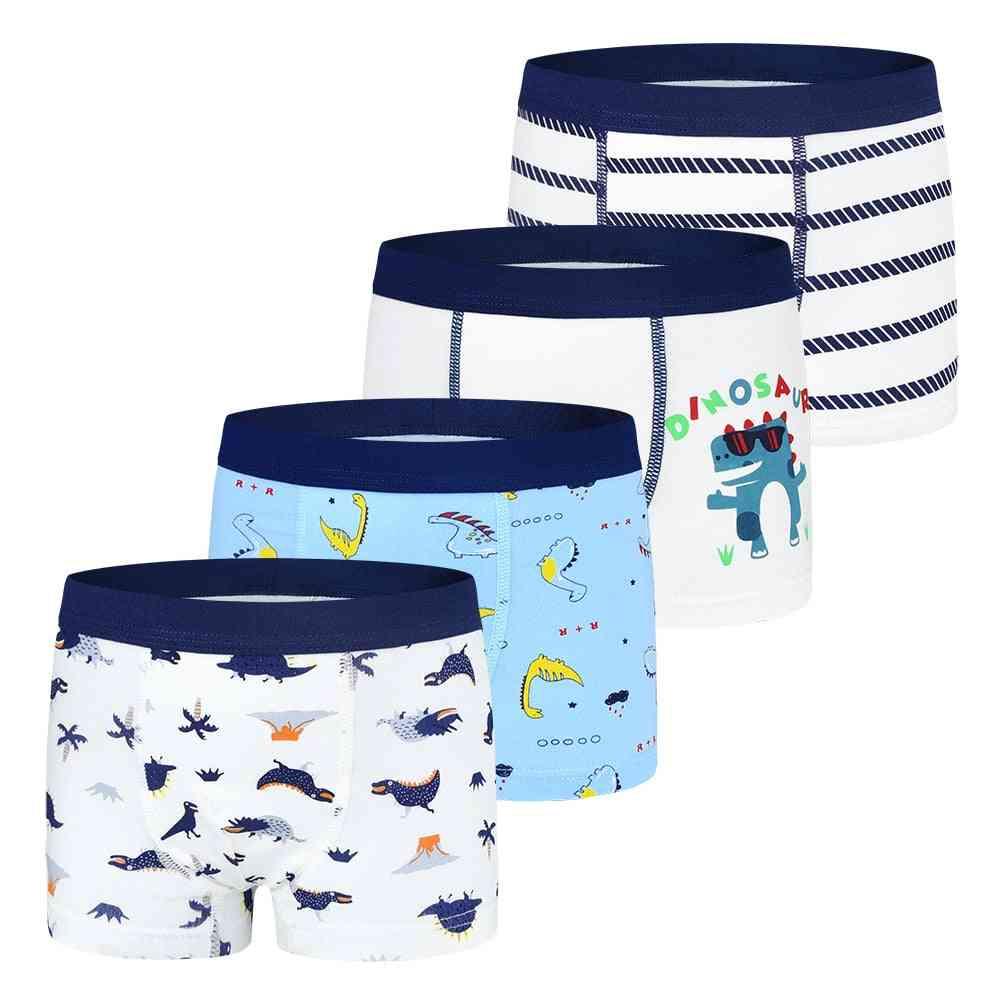 Kids Underwear, Cotton Shorts, Boxer, Briefs Panties, Basketball Pattern, Soft's Underpants