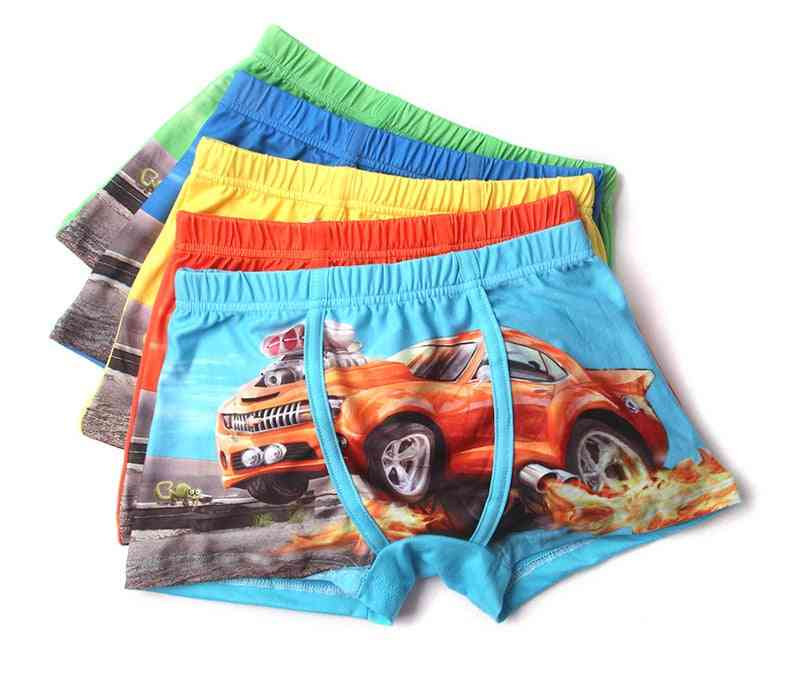 Soft Cotton Kids Underwear, Comfortable,'s Boy Boxer Shorts, Panties