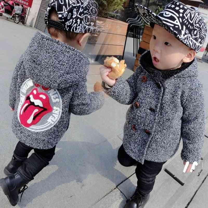 Winter Jacket For Jacket, Kids Hooded Warm Outwear Coat For Boy Jacket
