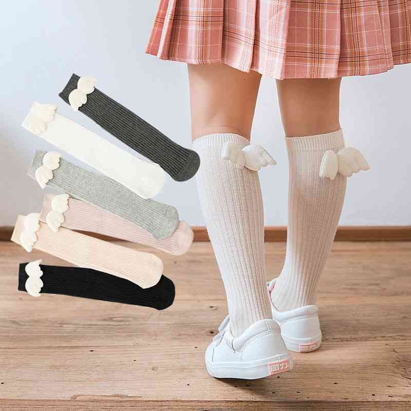 Socks Angel Wing Toddlers Long