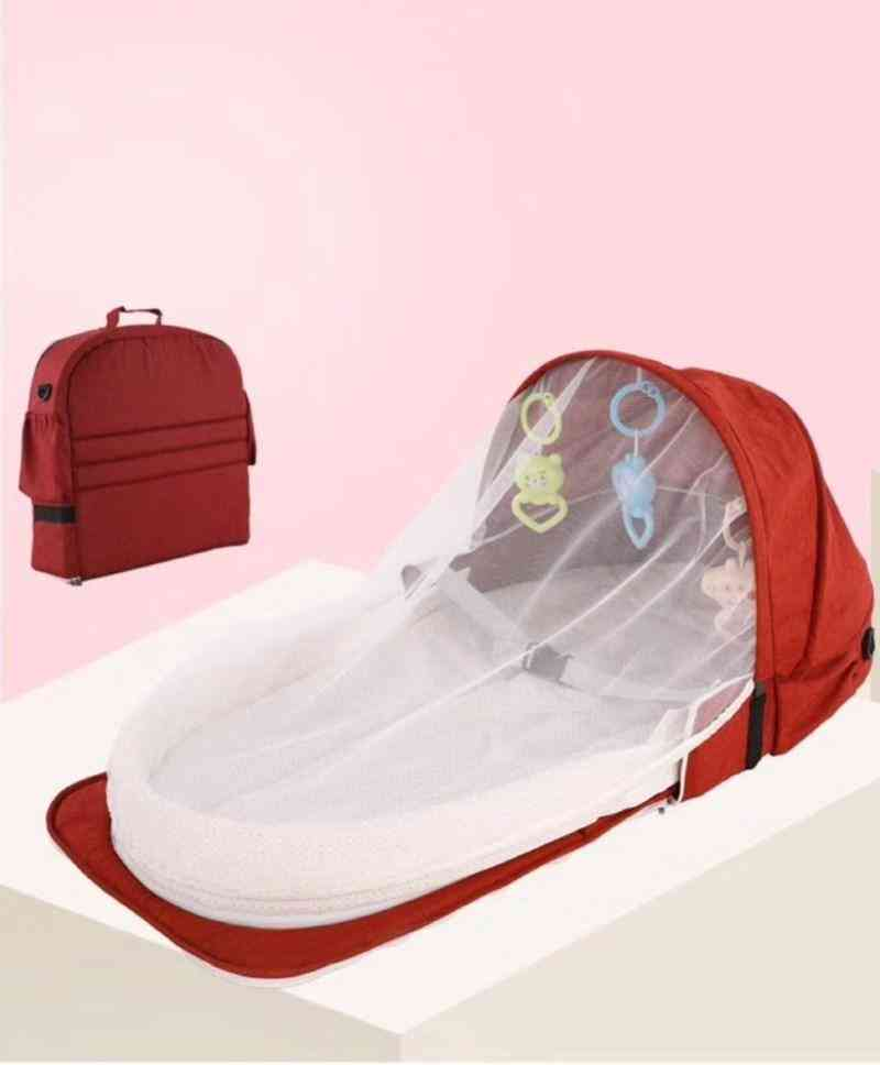 Mobile Crib Baby Bed