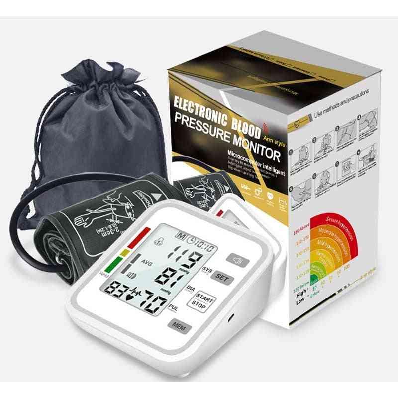 Smart Arm Blood Pressure Monitor Meter