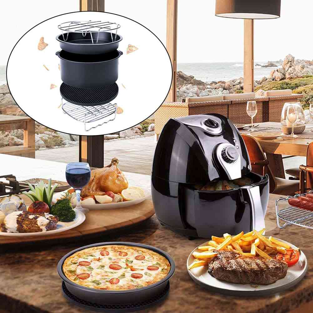 5pcs/set 6 Inch 7 Inch Air Fryer Accessories For Nowise Phillips