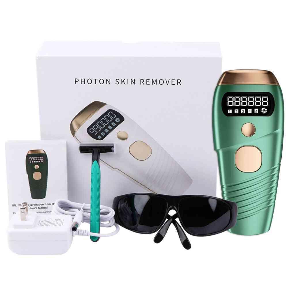 Body Permanent Laser Hair Removal/ Epilator For Women Painless Handset
