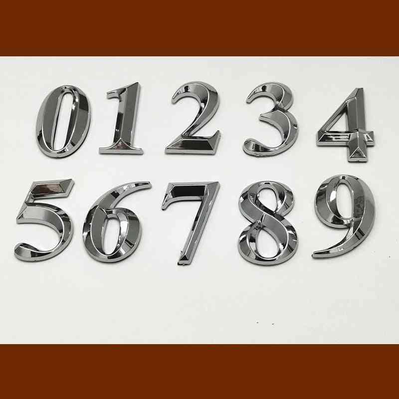 Self Adhesive Door Number