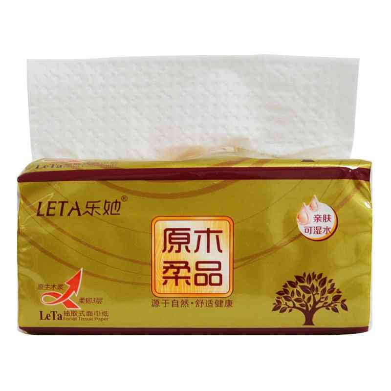 Three Layers Of Log Fragrance-free Printing Household Paper Towel