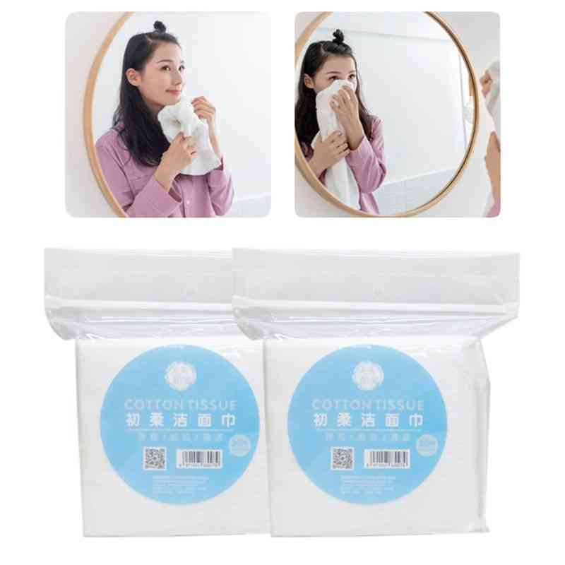 Thicken Embossed No Fluorescent Disposable Facial Towel