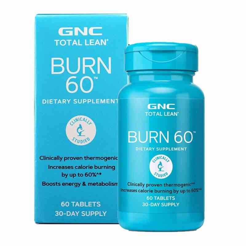 60 Powerful Thermogenic Formula Increases Calorie Burning 60% Boosts Energy