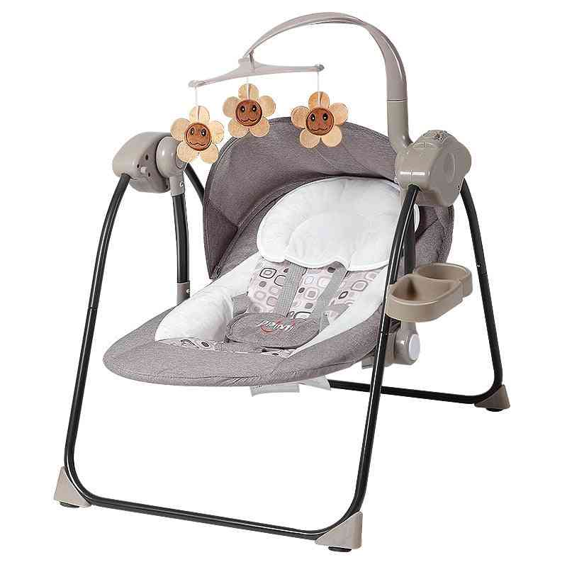 Baby Artifact Electric Rocking Chair Sleep Cradle Bed With Sleeping Chair