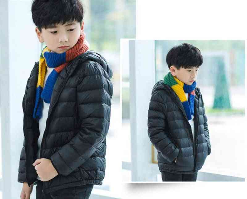 Hot Autumn Winter Hooded Down Jackets For