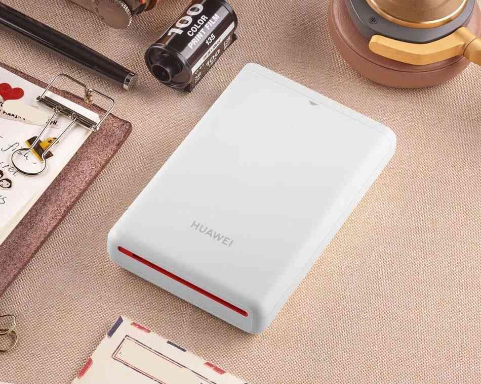 Original Huawei Ar Printer 300dpi Photo Mini Pocket With Diy  Printer Bluetooth
