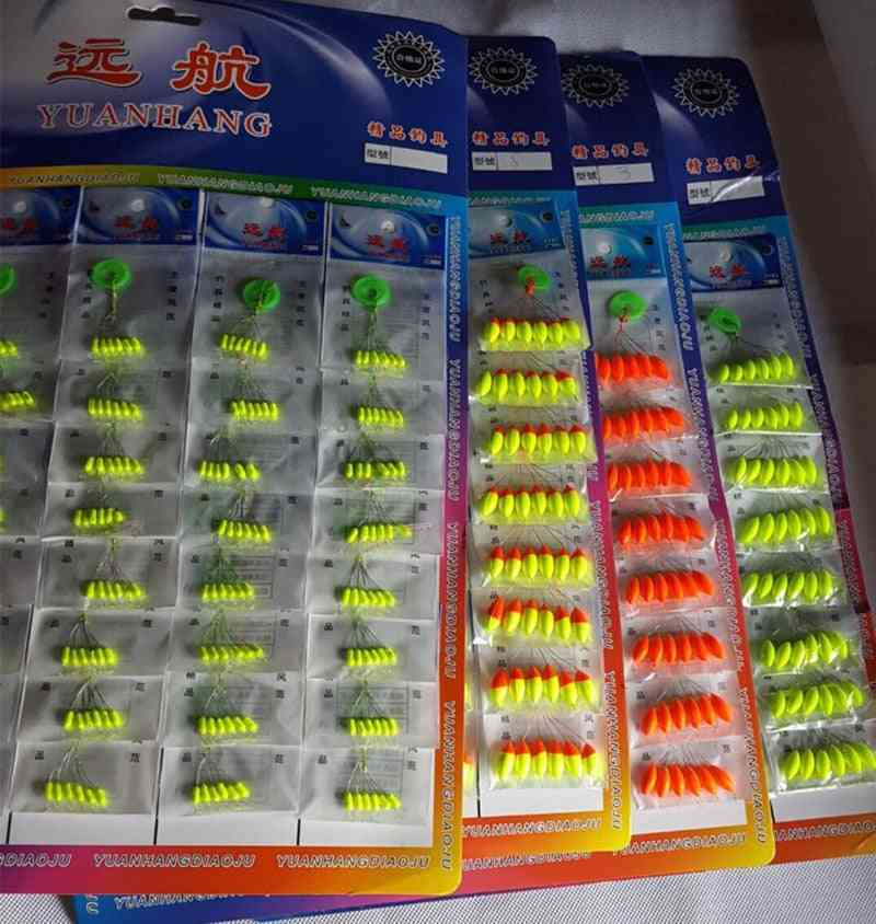 Seven-star Float Mixed Color Carp Fishing Float Accesories
