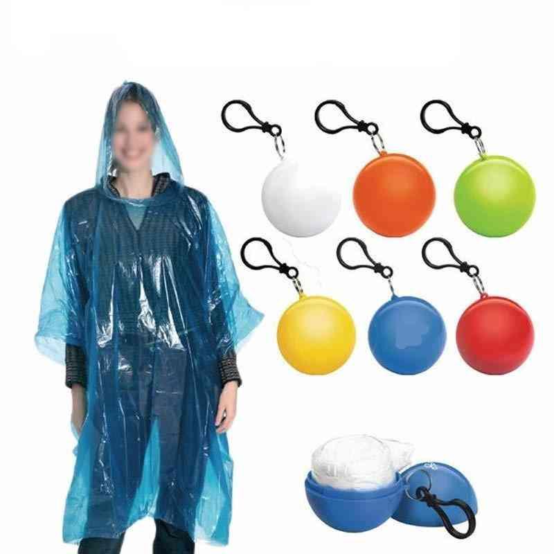 Portable Disposable Raincoat