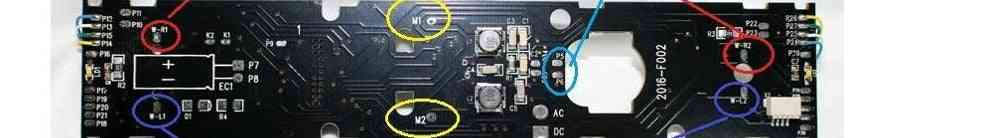 Dcc Adapter Board For Locomotive