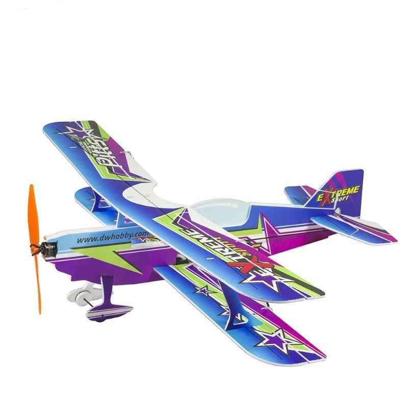 New Micro Indoor Pp Foam Sport 3d Biplane