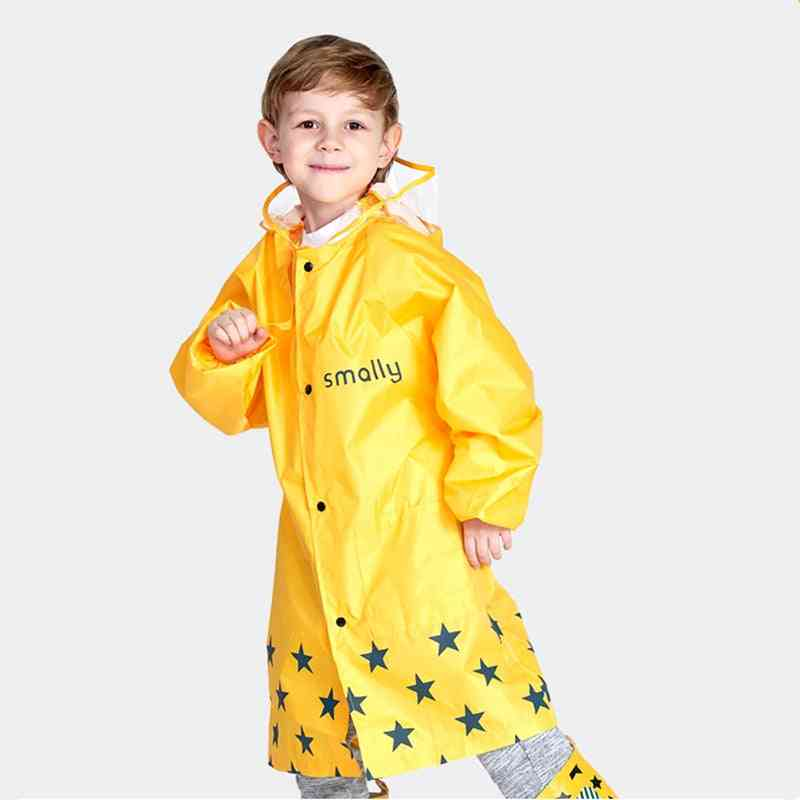 Children Raincoat Waterproof Rainwear Hoode