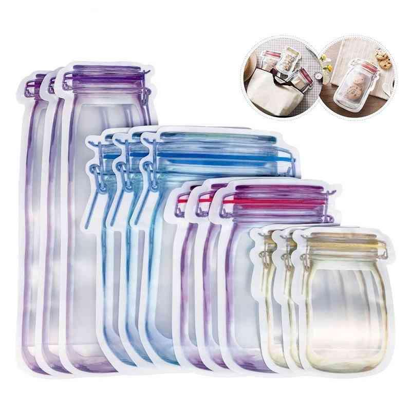 Reusable Mason Jar Bottles Bags