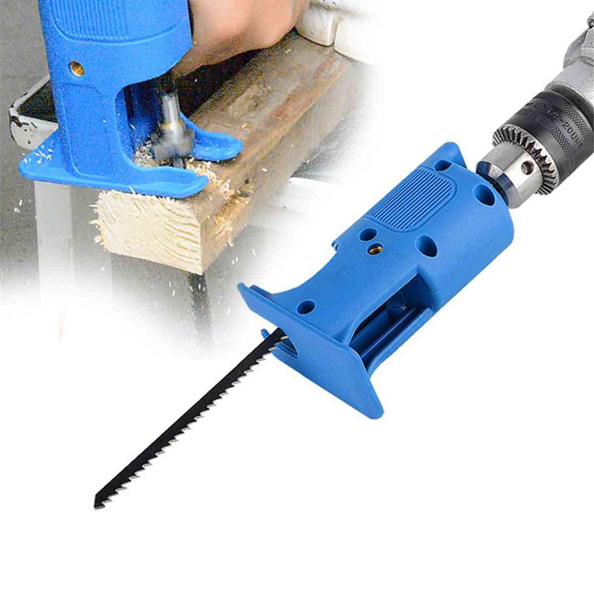 Cordless Reciprocating Saw Adapter Electric Drill