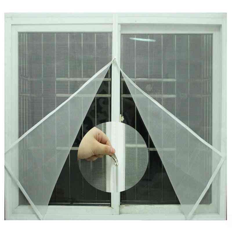 Windows Self-adhesive Zipper Easy Mosquito Net