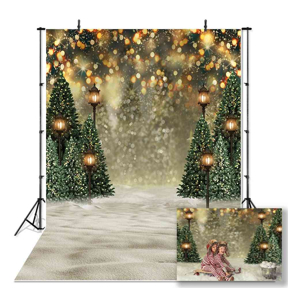 Backdrop For Photography Snowflake, Background For Photo Christmas Tree