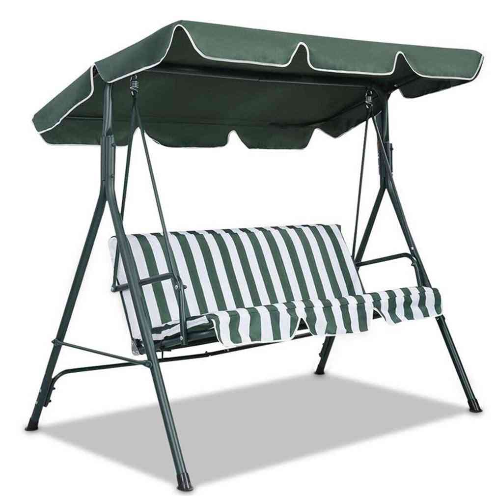 Seater Size Outdoor Garden Patio Swing Sunshade Cover Canopy Seat (190x132x15cm)