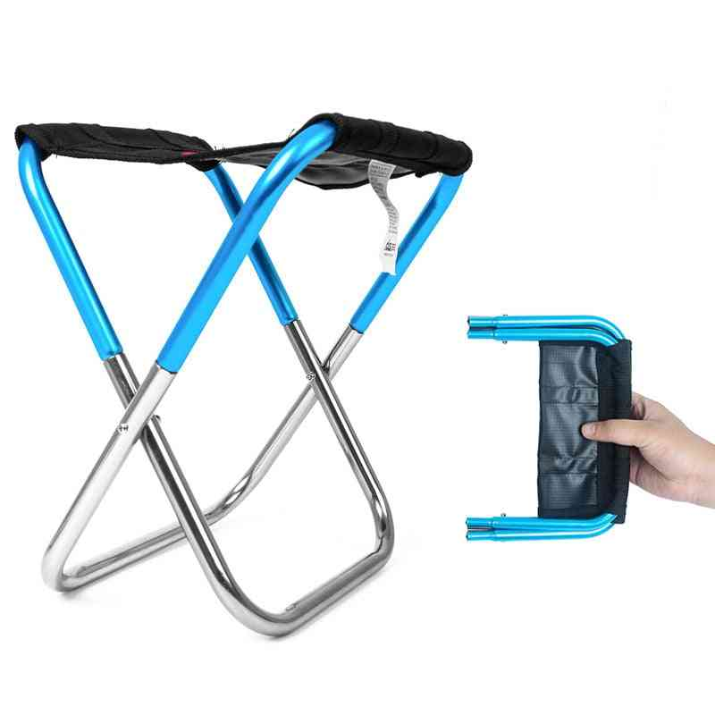 Outdoor Foldable Ultra Light Weight Portable Folding Camping Fishing Chair