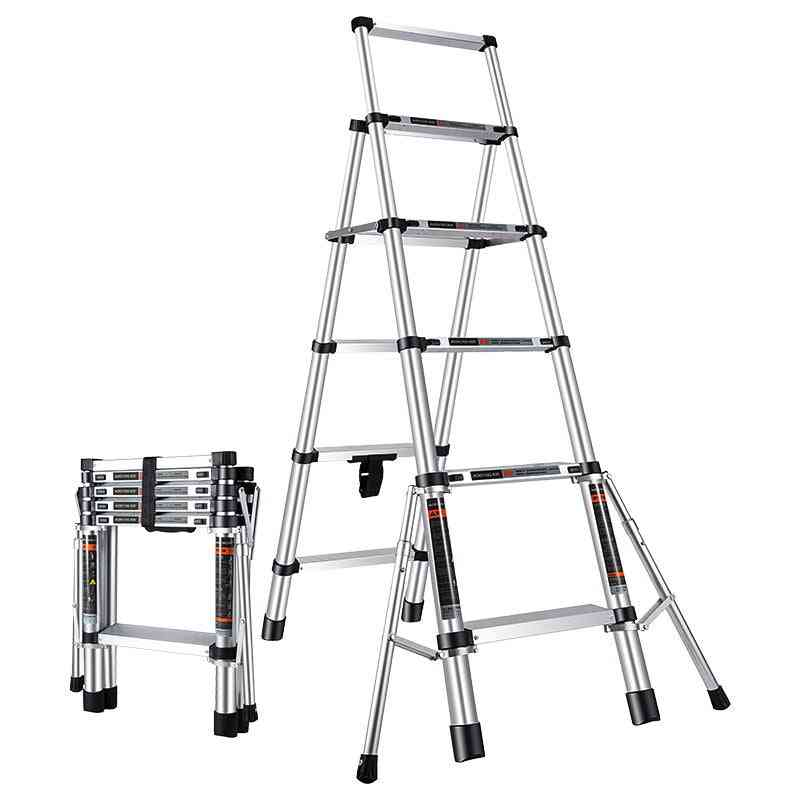 Multi Purpose Telescopic Ladder Step Ladder