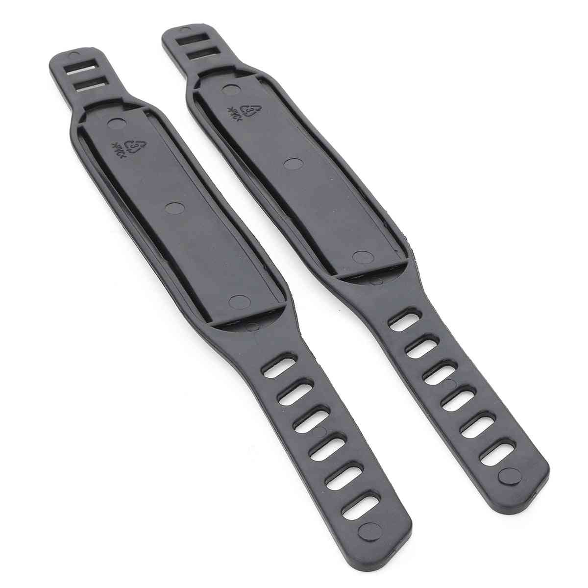 Pair Bicycle, Cycling Stationary Fitness Exercise Bike Pedal Straps, Belts Fix Bands, Tape Generic