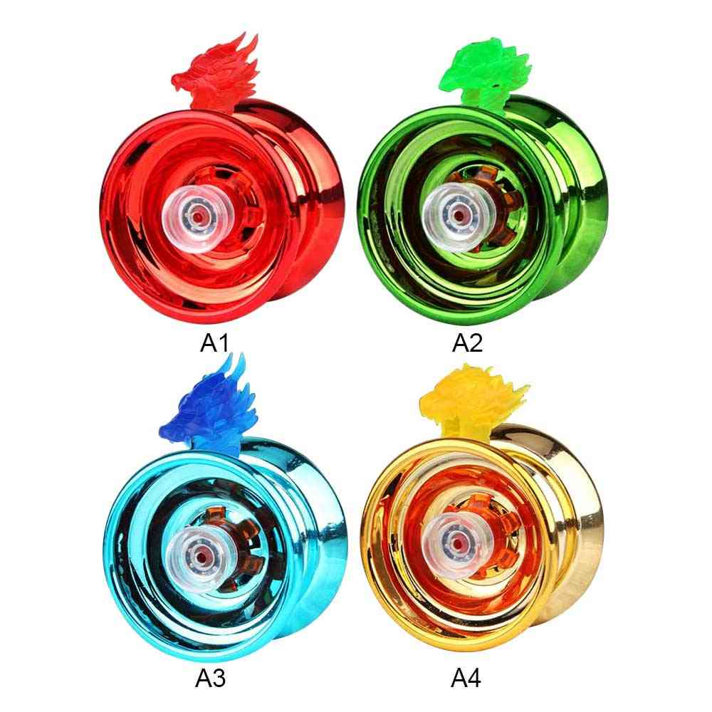 Funny Aluminum Alloy Responsive Yoyo Ball, Kids Toy, Entertainment For, Beginners Learner