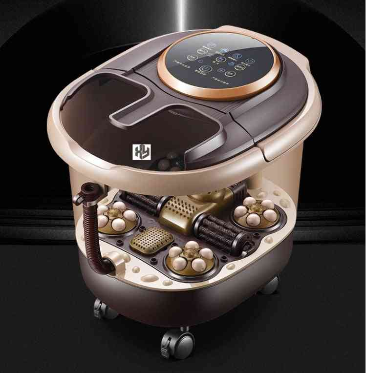 Footbath Household Electric Massage, Heating Barrel, With Automatic Tub