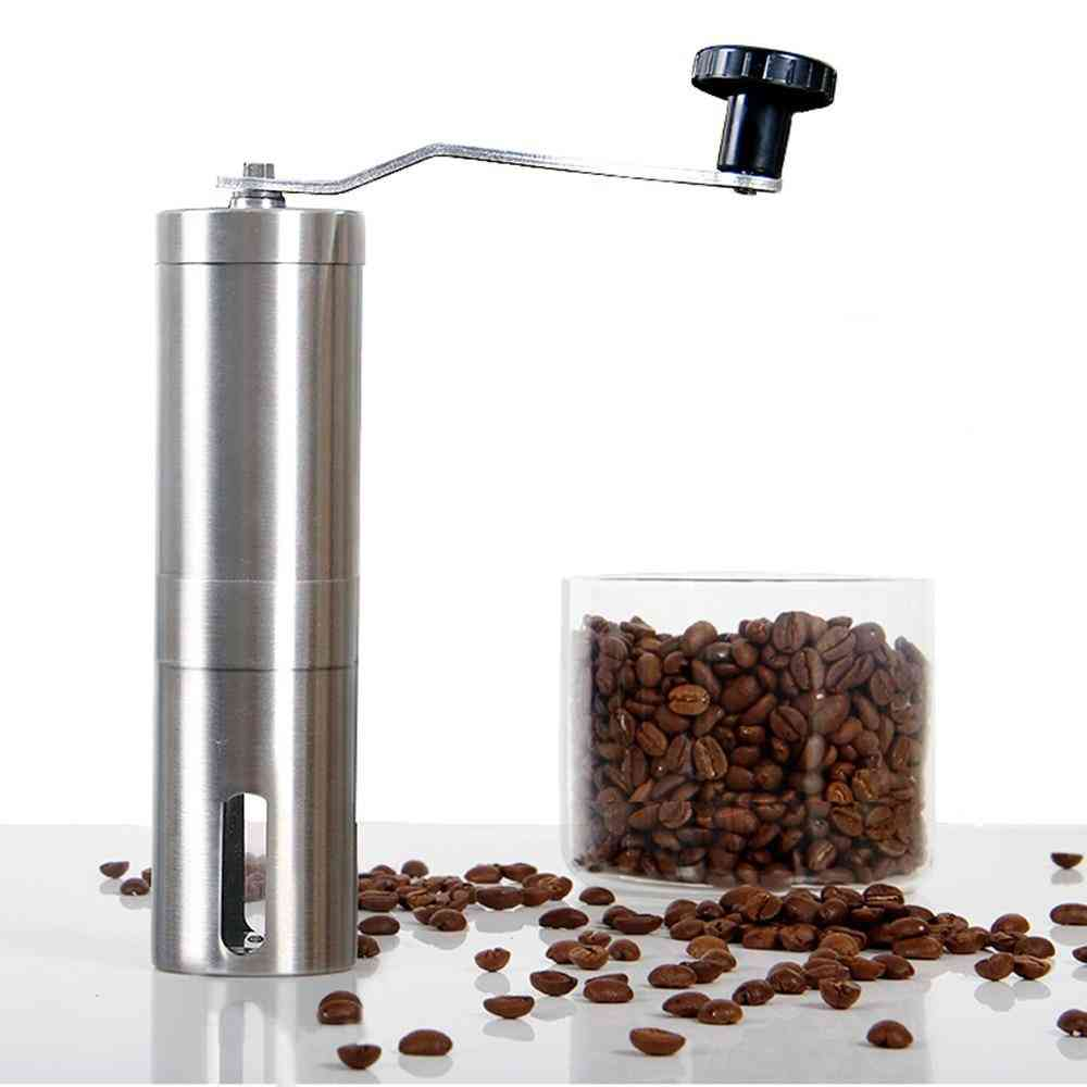 Mini Stainless Steel Hand Manual Coffee Bean  Grinders