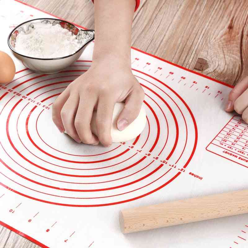 Silicone Baking Mat Pizza Dough Maker Pastry Kitchen Gadgets