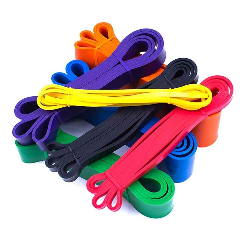 Pull Up Elastic Band Natural Latex Rubber Tape Resistance Band