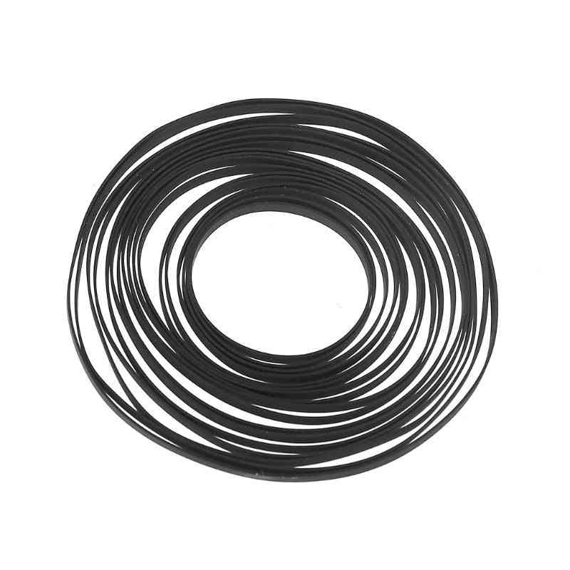 Turntable Rubber Replacement Flat Drive Belt For Vinyl Record Player