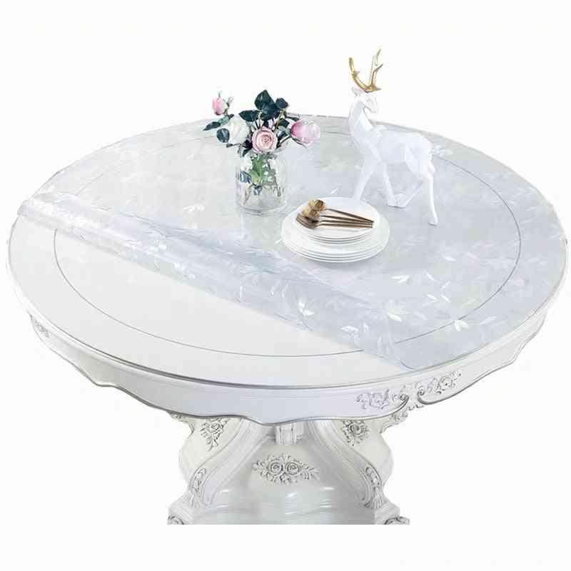 Pvc Moisture-proof Round Tablecloth