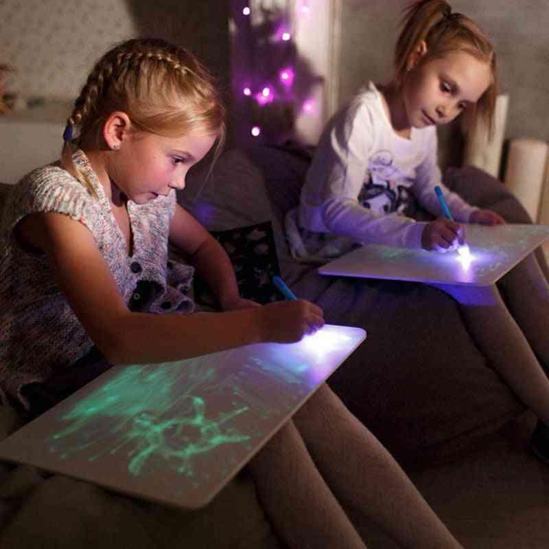 Led Luminous Drawing Tablet Board