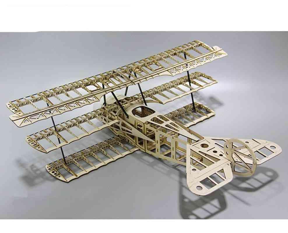 Laser Cut Balsa Wood Airplane