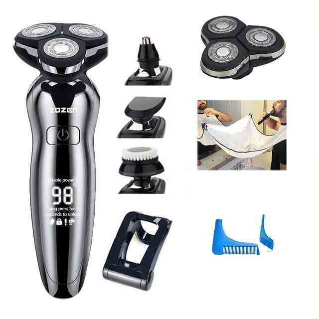 Electric Shaver Hair Clipper Usb Rechargeable