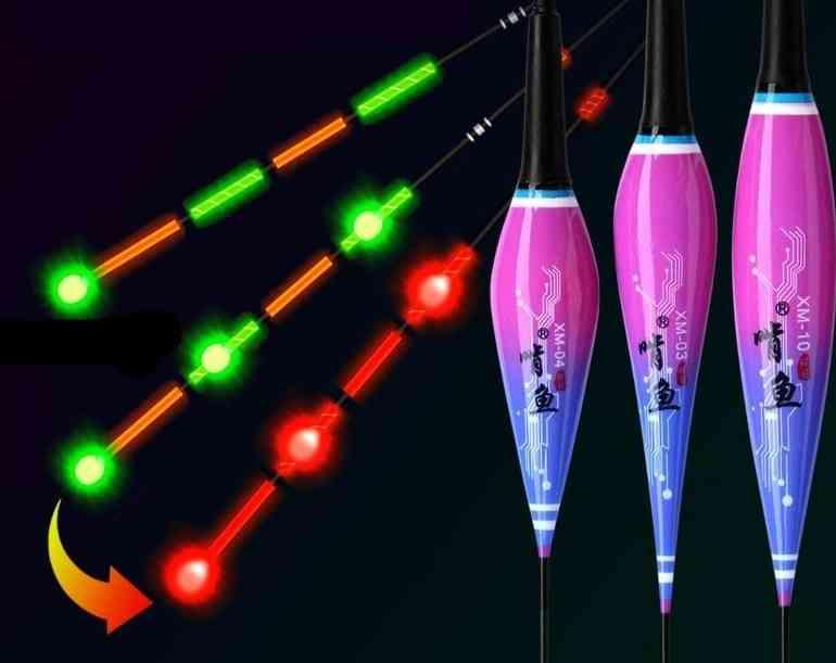 Smart Fishing Led Light, Battery Cr425 Night Fishing Tie Gravity Accessories