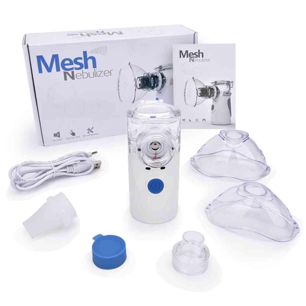 Portable Nebulizer Inhaler Adult Nebulizador Portatil Medical Equipment (nebulizer)