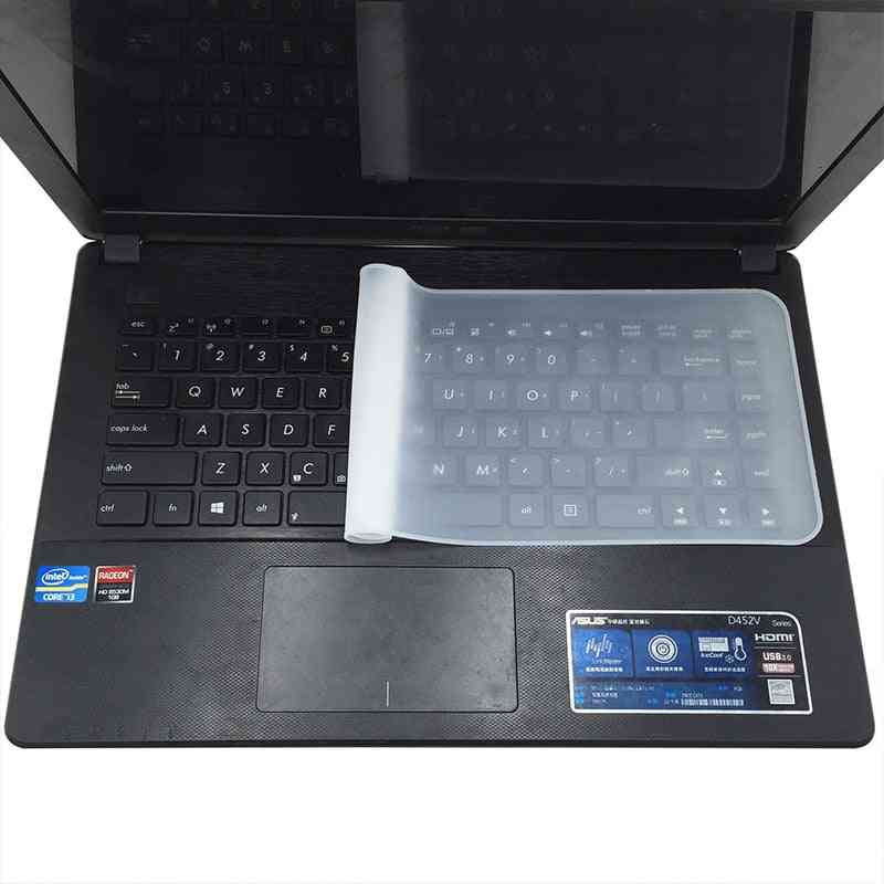 Waterproof Laptop Keyboard Protective Silicone Transparent Protective Film